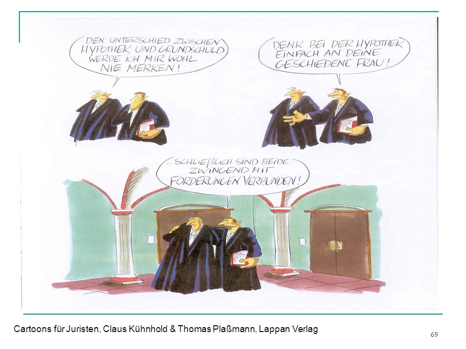 Cartoons für Juristen, Claus Kühnhold & Thomas Plaßmann, Lappan Verlag