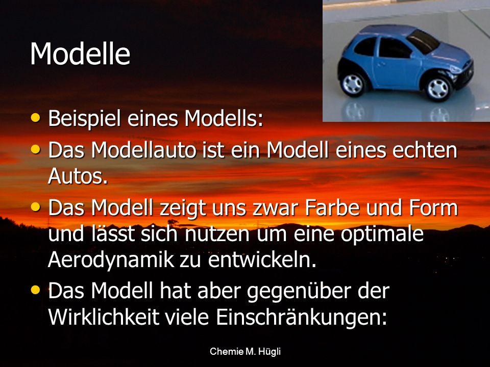 Modelle Beispiel eines Modells: