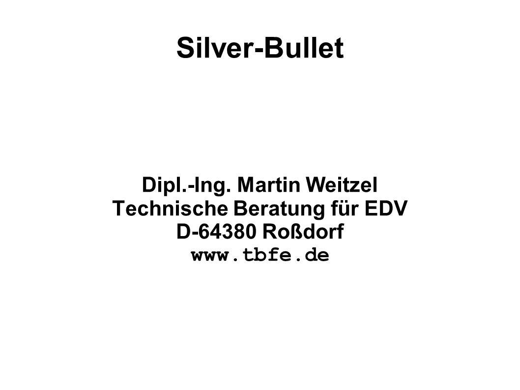 Dipl.-Ing. Martin Weitzel Technische Beratung für EDV D-64380 Roßdorf