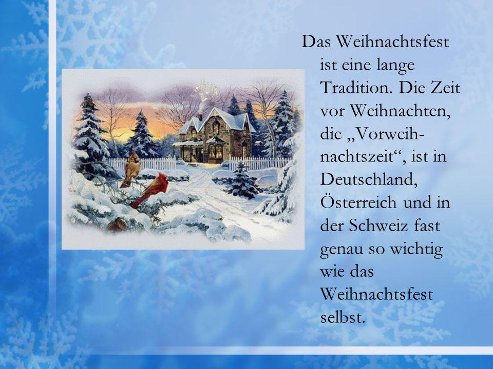 weihnachten tradition deutschland
