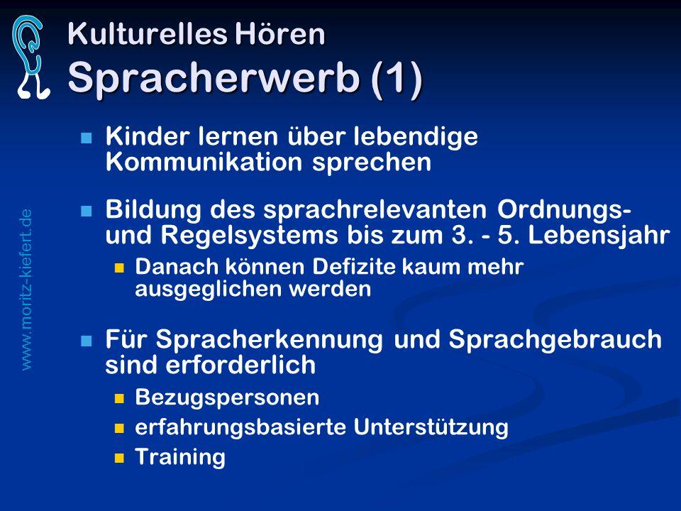 Kulturelles Hören Spracherwerb (1)