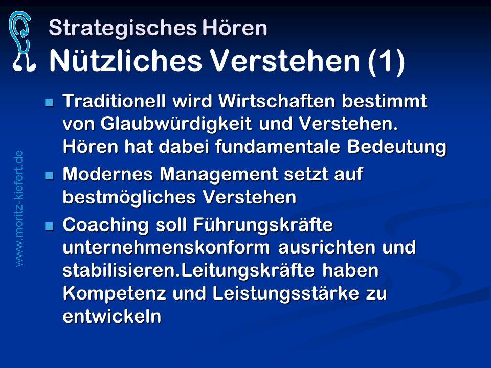Strategisches Hören Nützliches Verstehen (1)
