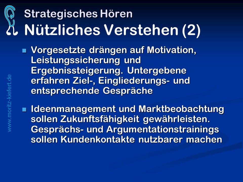 Strategisches Hören Nützliches Verstehen (2)