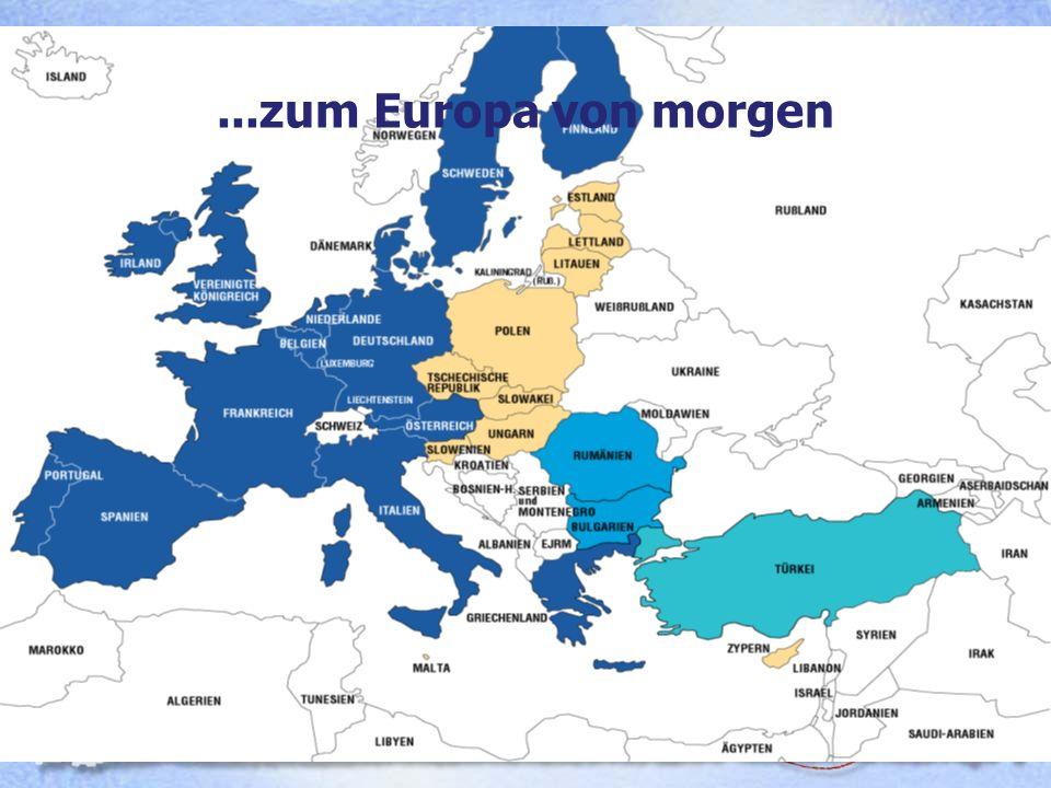 Das Europa von morgen ...zum Europa von morgen 13. Dezember 2002