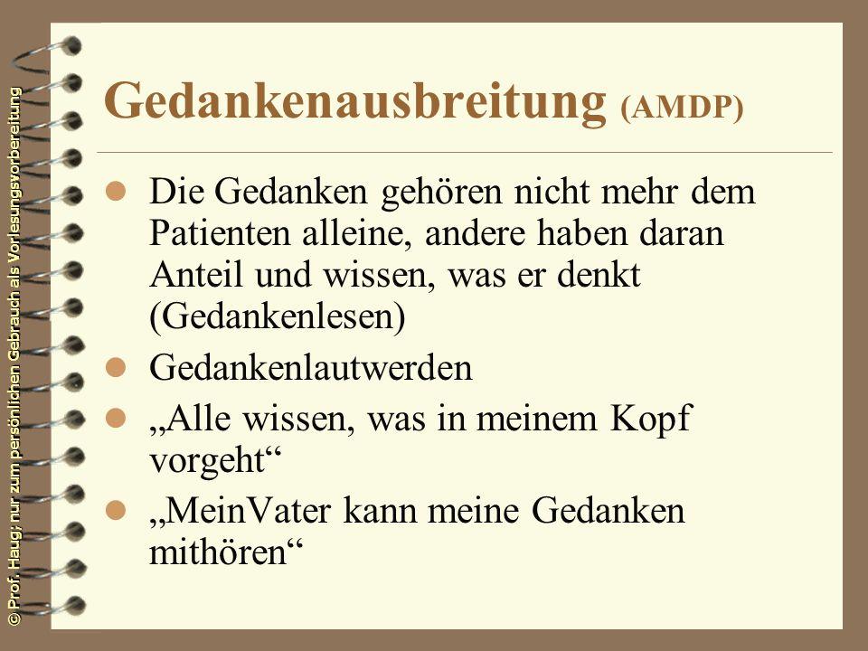 Gedankenausbreitung (AMDP)