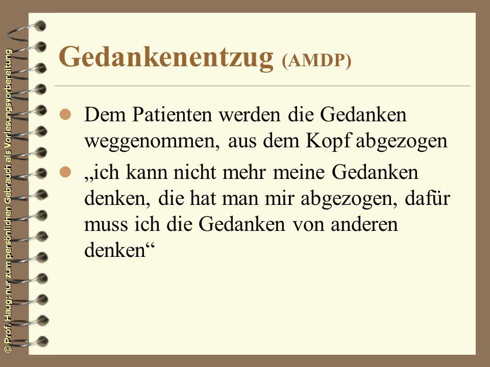 Gedankenentzug (AMDP)