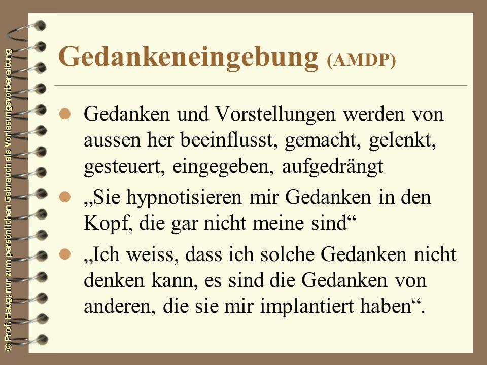 Gedankeneingebung (AMDP)