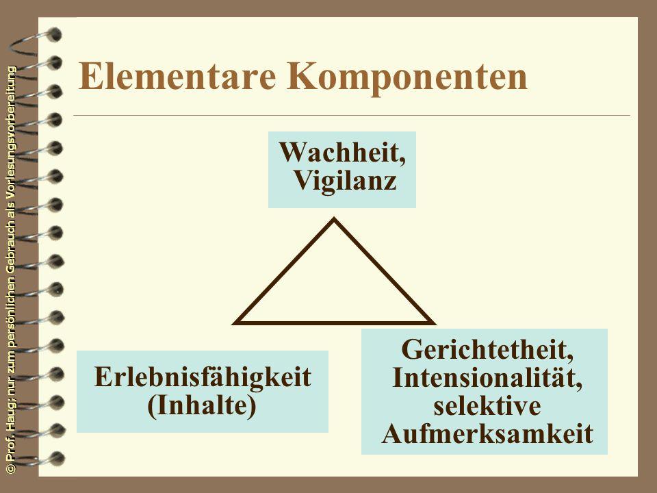 Elementare Komponenten