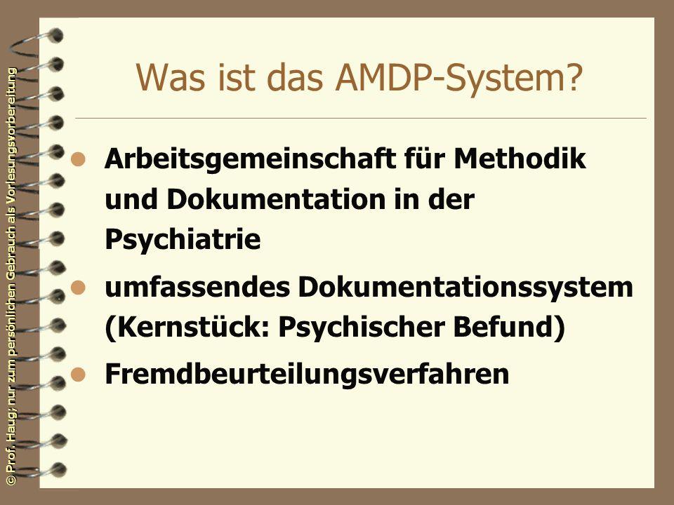 Was ist das AMDP-System