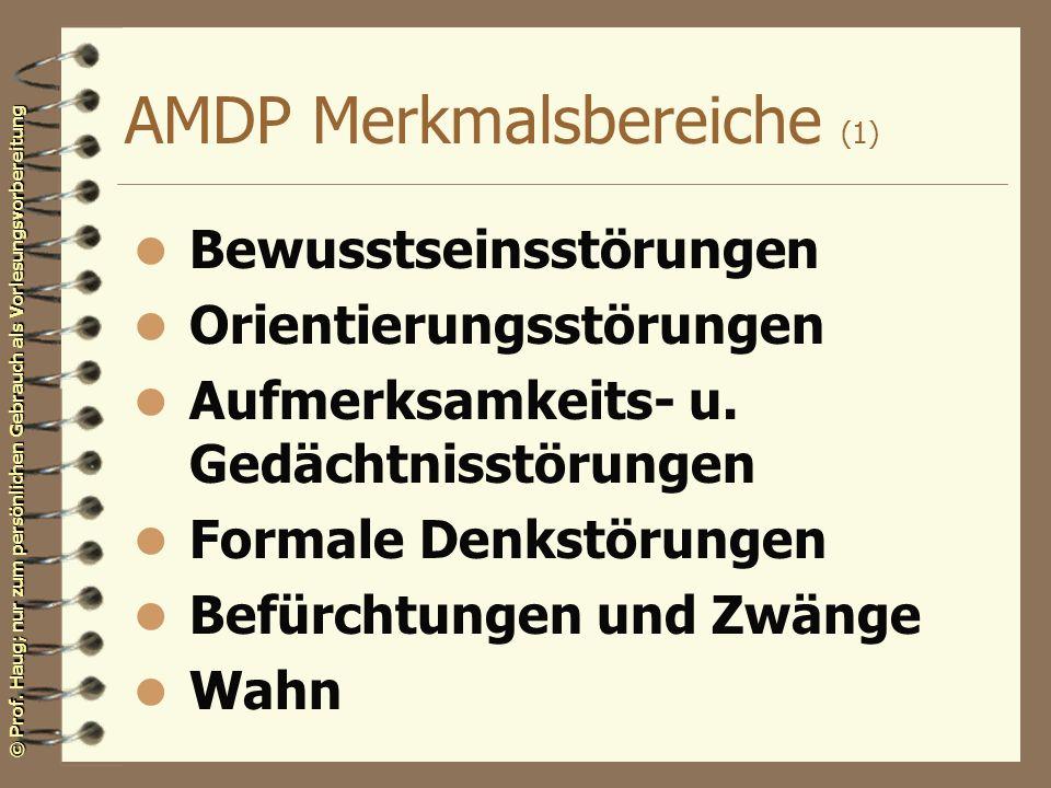 AMDP Merkmalsbereiche (1)