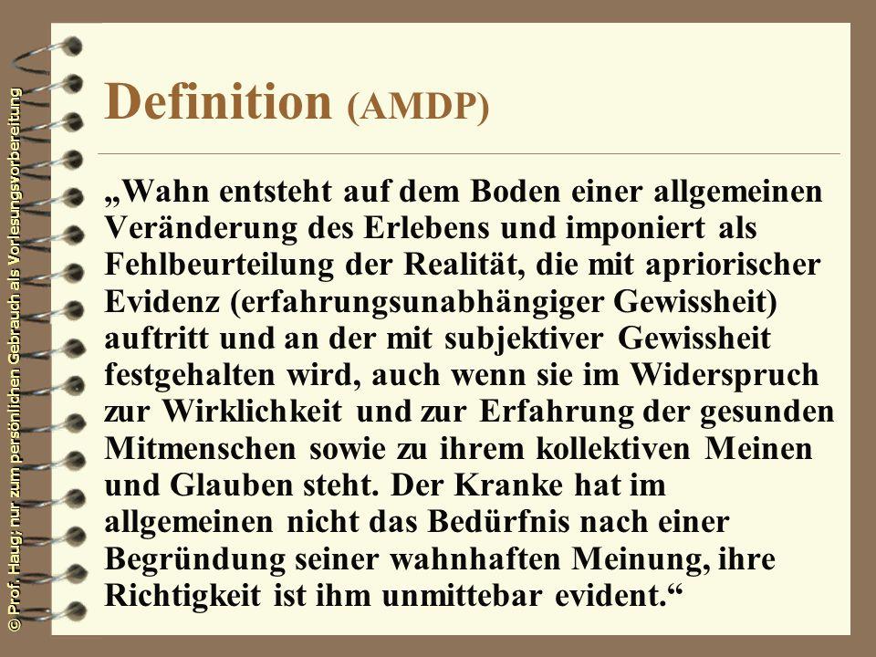 Definition (AMDP)