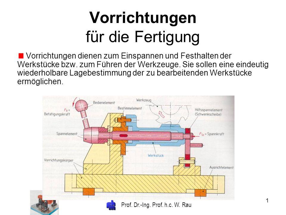 Vorrichtungen für die Fertigung