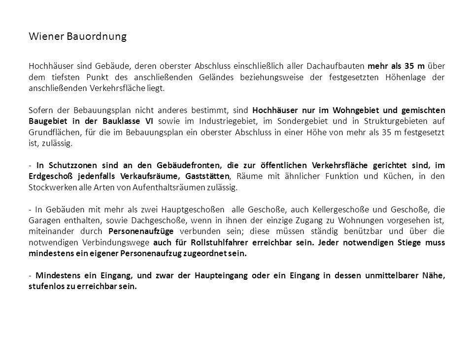 Wiener Bauordnung