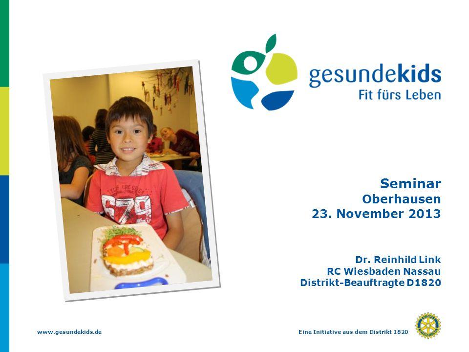 Seminar Oberhausen 23. November 2013 Dr