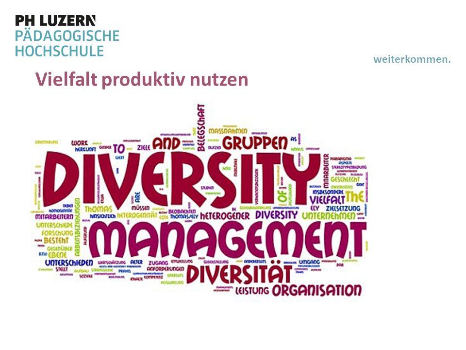 Vielfalt produktiv nutzen
