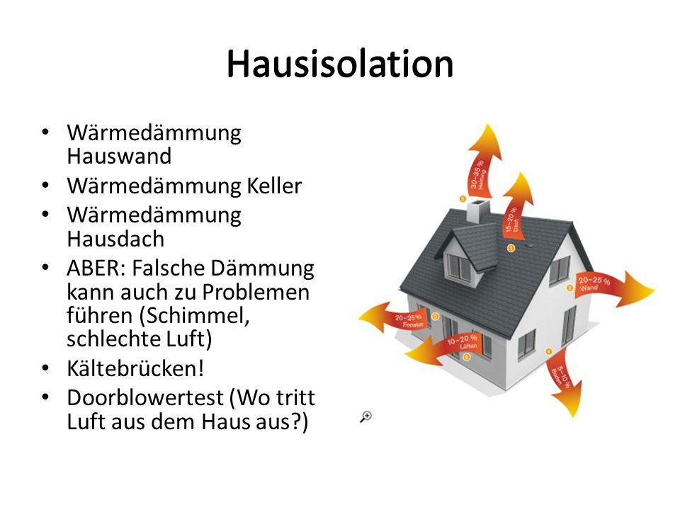 Hausisolation Hausisolation Wärmedämmung Hauswand Wärmedämmung Keller