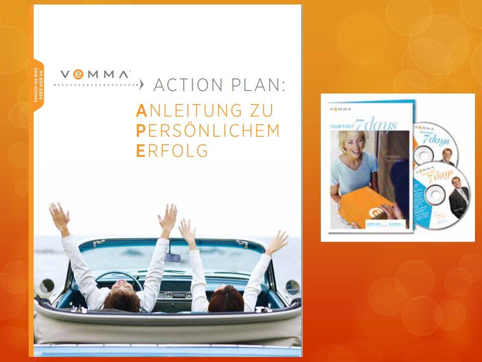 Das Training baut auf dem Vemma Action Plan auf, den jeder von euch hoffentlich kennt!