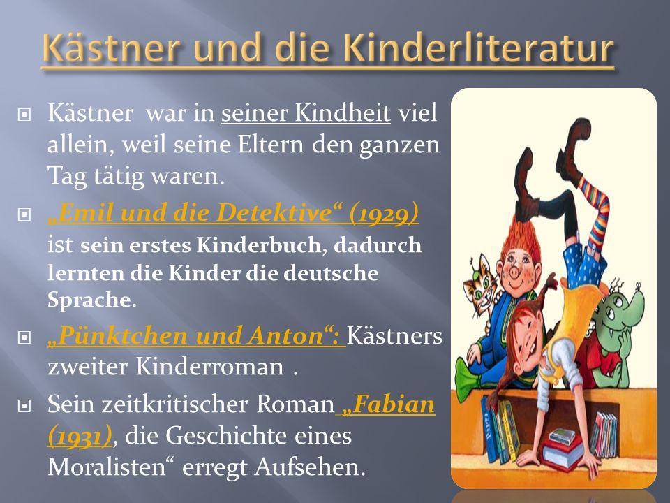 Kästner und die Kinderliteratur