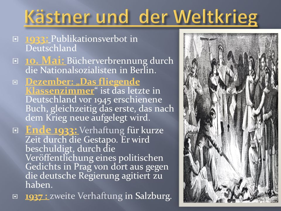 Kästner und der Weltkrieg