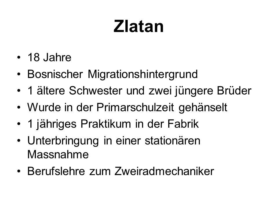 Zlatan 18 Jahre Bosnischer Migrationshintergrund