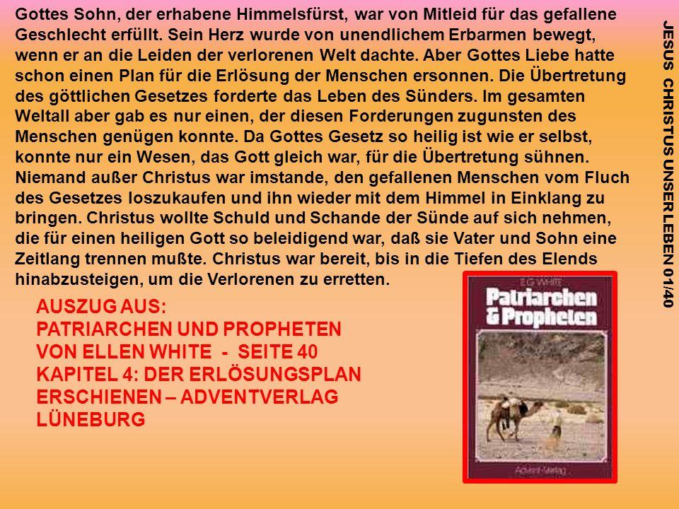PATRIARCHEN UND PROPHETEN VON ELLEN WHITE - SEITE 40