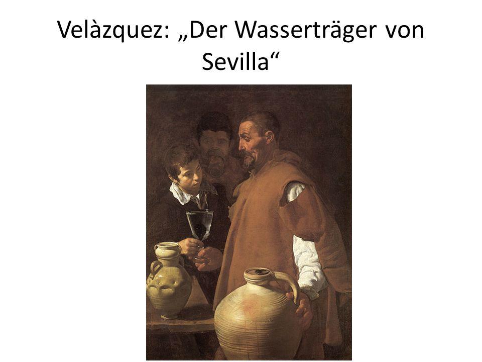 """Velàzquez: """"Der Wasserträger von Sevilla"""