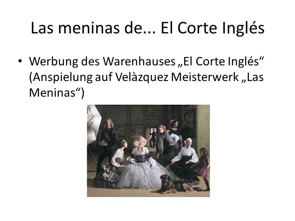 Las meninas de... El Corte Inglés