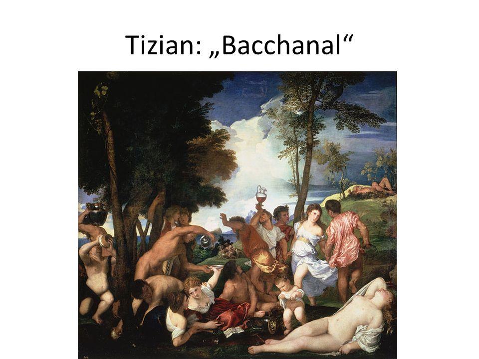 """Tizian: """"Bacchanal"""