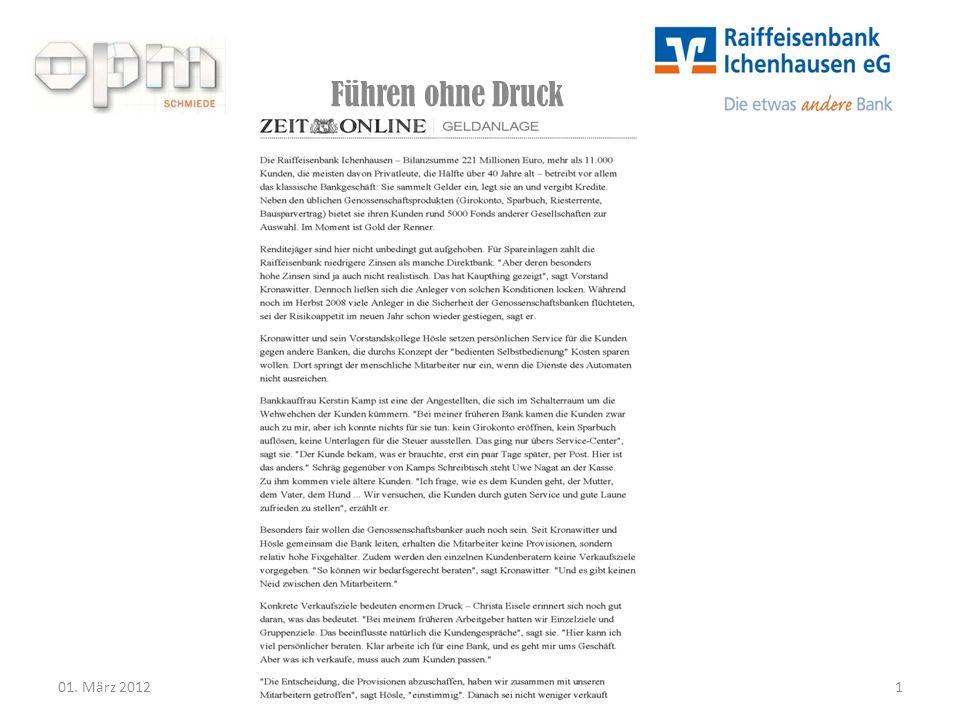 Vorstandsmitglied der Raiffeisenbank Ichenhausen: Ernst Kronawitter