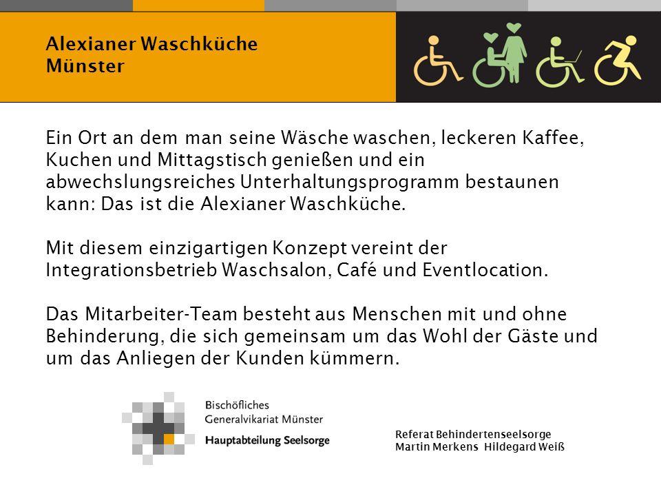 Alexianer Waschküche Münster.