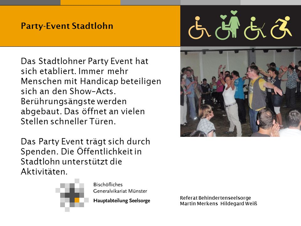 Party-Event Stadtlohn