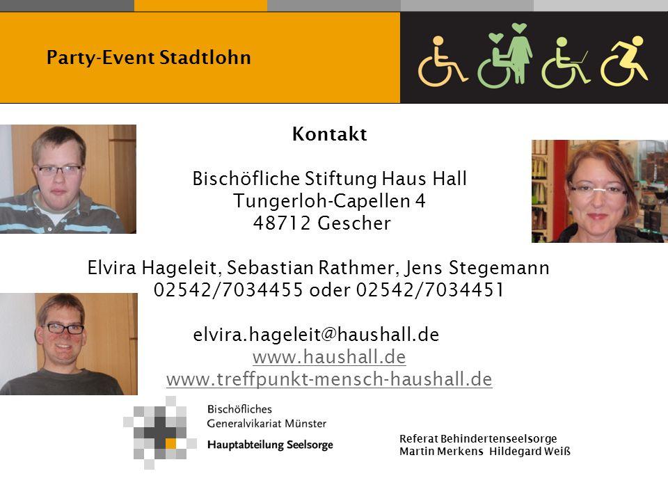 Bischöfliche Stiftung Haus Hall Tungerloh-Capellen 4 48712 Gescher