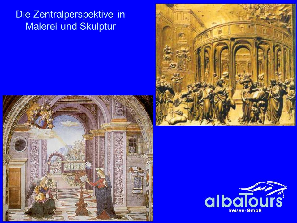 Die Zentralperspektive in Malerei und Skulptur