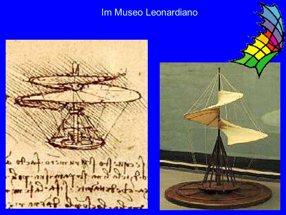 Im Museo Leonardiano