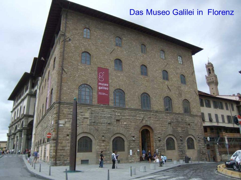 Das Museo Galilei in Florenz
