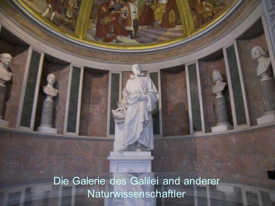 Die Galerie des Galilei and anderer Naturwissenschaftler