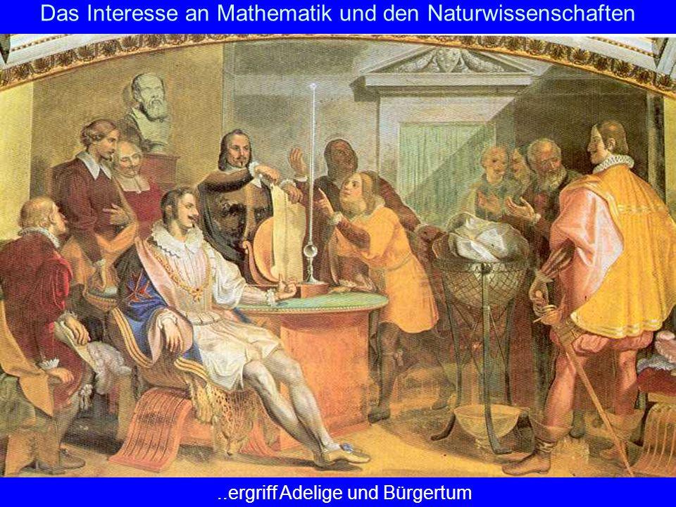 Das Interesse an Mathematik und den Naturwissenschaften