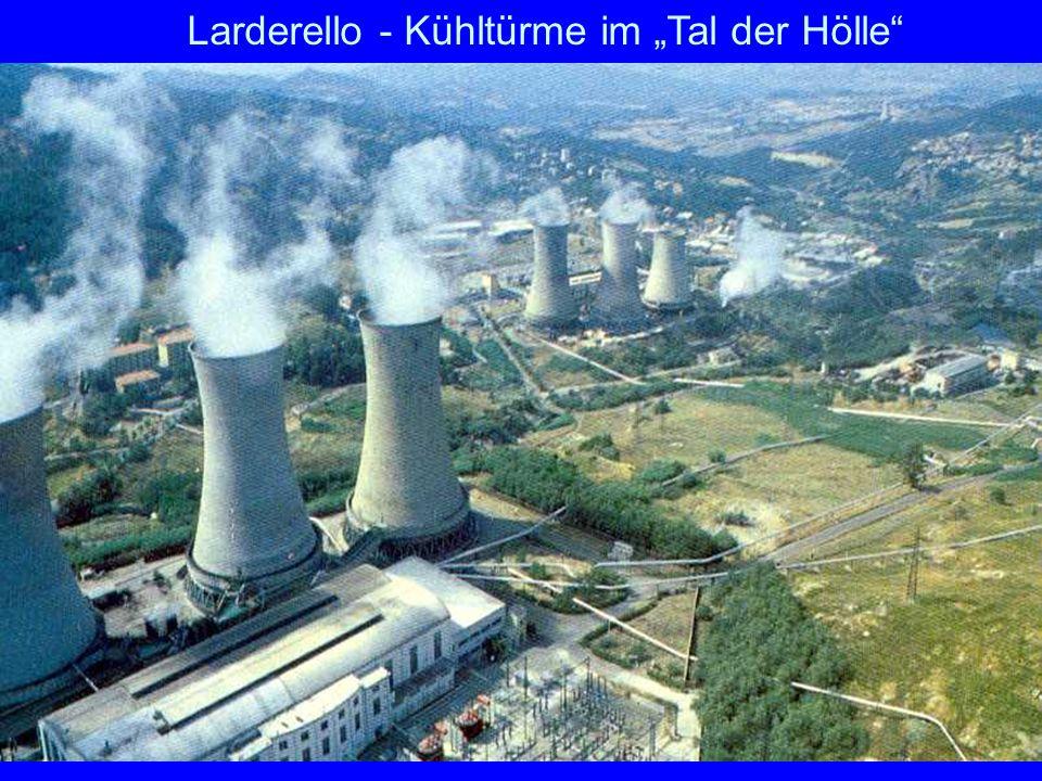 "Larderello Larderello - Kühltürme im ""Tal der Hölle"