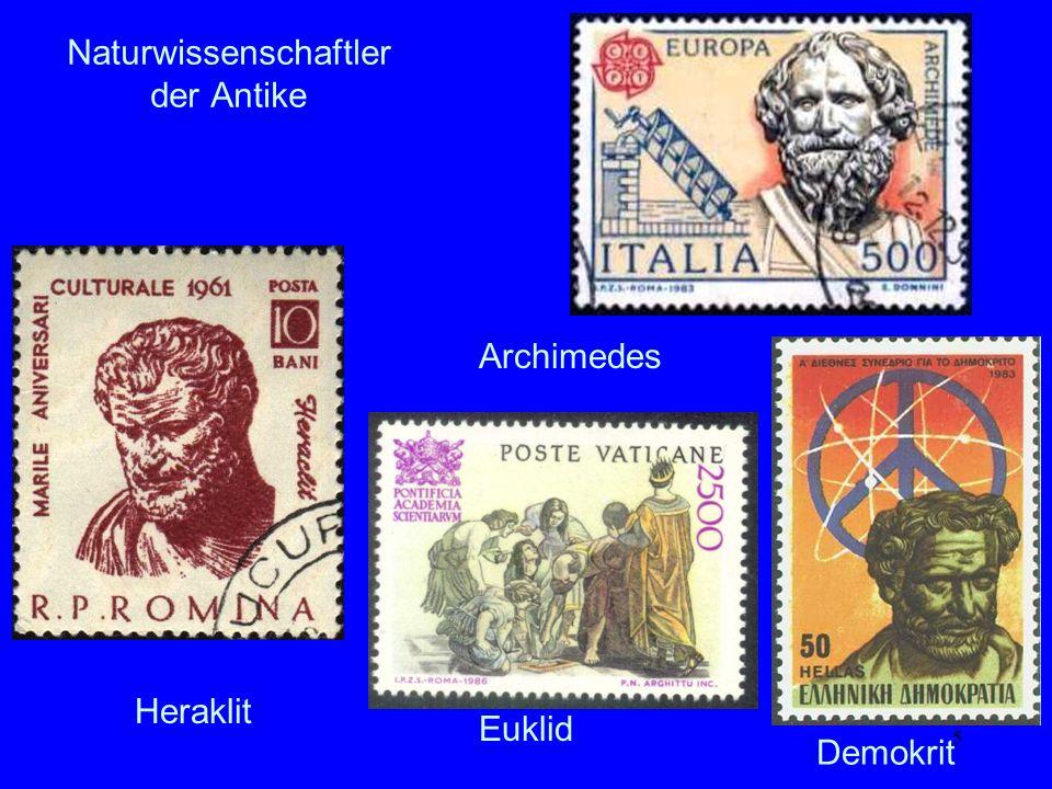 Naturwissenschaftler der Antike