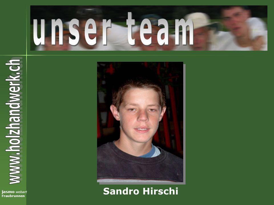 unser team Sandro Hirschi