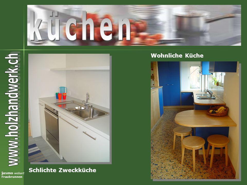 küchen Wohnliche Küche Schlichte Zweckküche