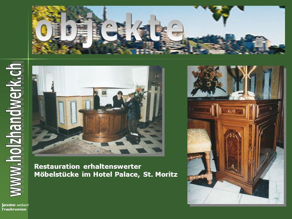 objekte Restauration erhaltenswerter