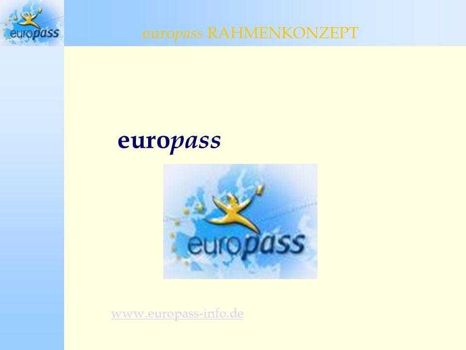 europass www.europass-info.de