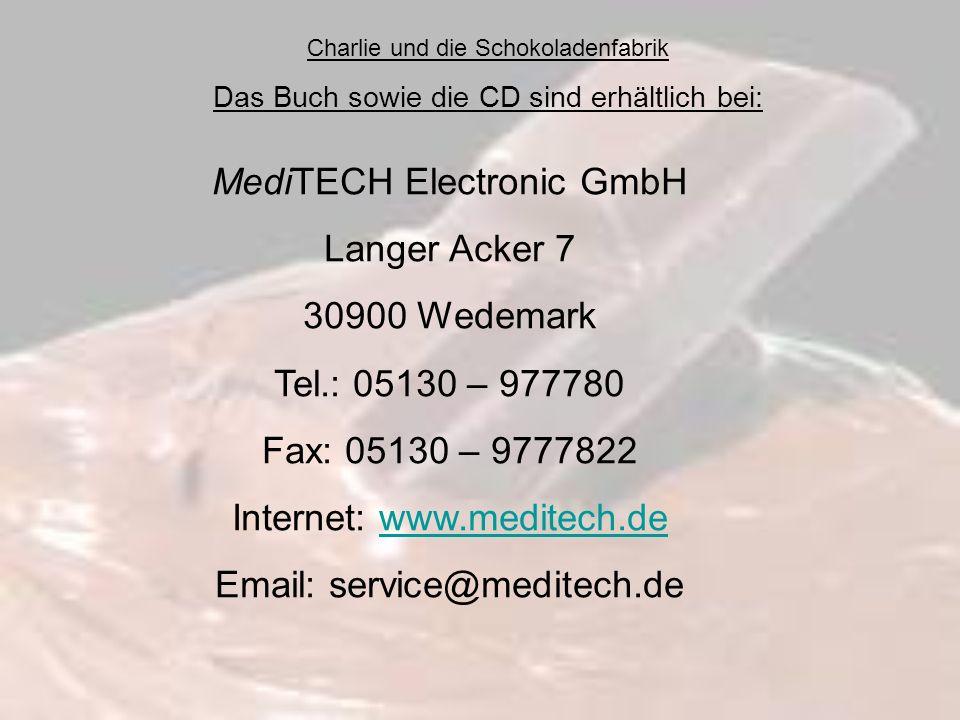 MediTECH Electronic GmbH Langer Acker 7 30900 Wedemark