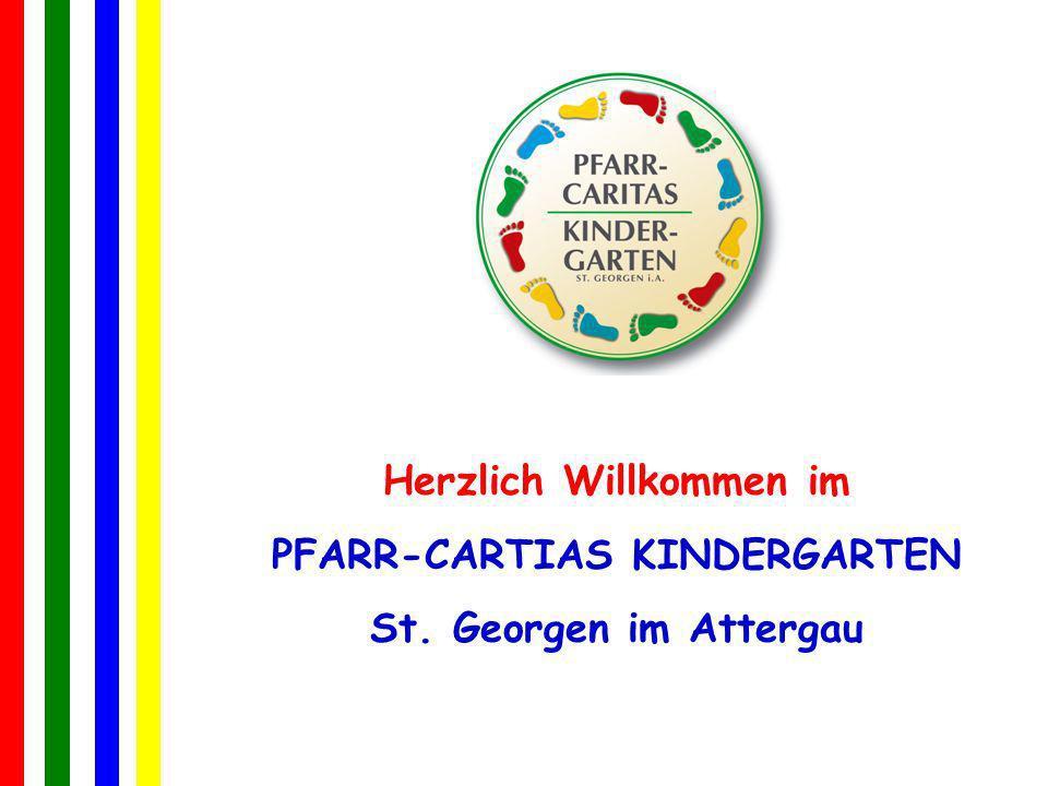 Herzlich Willkommen im PFARR-CARTIAS KINDERGARTEN