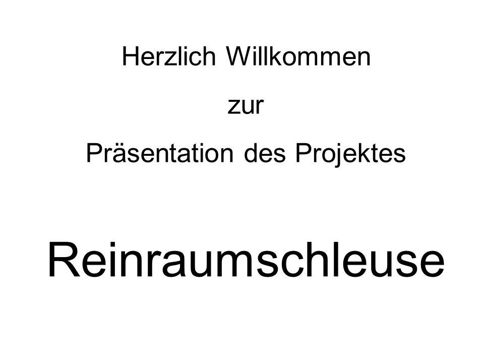 Präsentation des Projektes