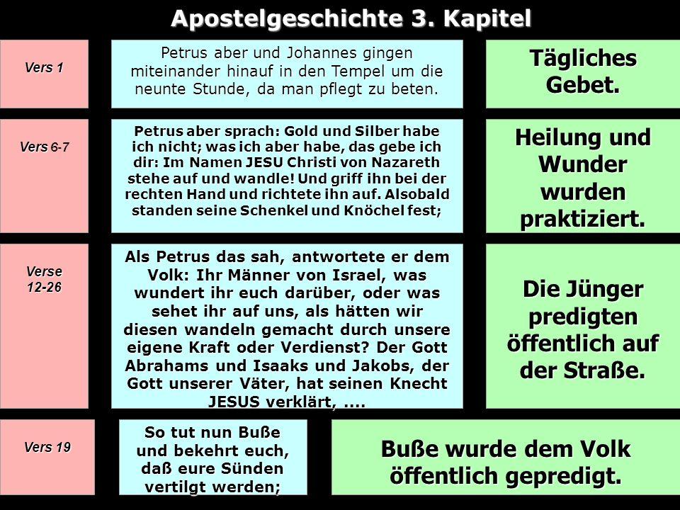 Apostelgeschichte 3. Kapitel