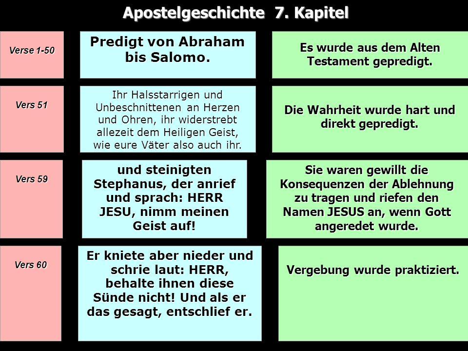 Apostelgeschichte 7. Kapitel
