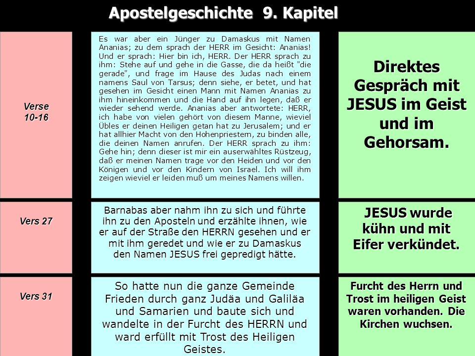 Apostelgeschichte 9. Kapitel