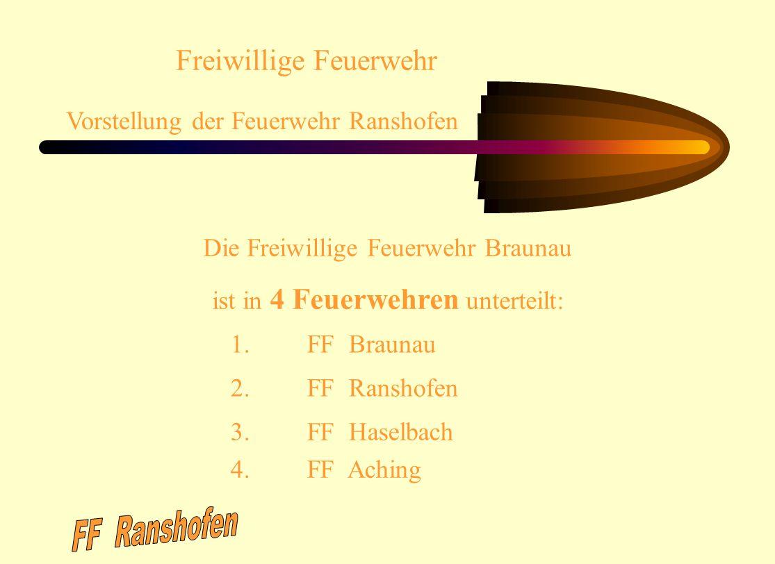 FF Ranshofen Freiwillige Feuerwehr Vorstellung der Feuerwehr Ranshofen